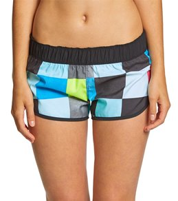 5a304e8b65 Hurley Women's 2.5 Supersuede Kingsroad Beachrider Boardshort