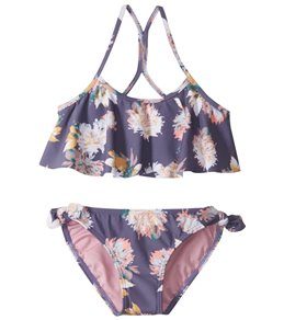 83b3922bed O'Neill Girls' Freefall Flounce Bikini Top Swim Set (Toddler, Little Kid
