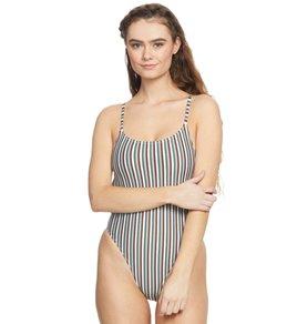 dfc64ed33 MINKPINK Louis Button Side One Piece Swimsuit