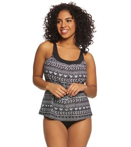 1a96ae5a96a Coco Reef Pacific Stripe Ultra Fit Tankini Top (C-F Cup)