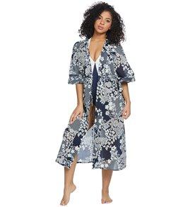 7049b8c781a Vince Camuto Zen Garden Kimono Midi Cover Up
