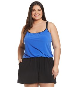 45d53dbb3ae Women's Plus Size Swim Dresses at SwimOutlet.com