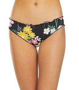 064c4d14a5288 Hobie Flower Fields Ruffle Hipster Full Coverage Bikini Bottom