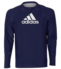 6178cfd5d6d52 Adidas Men s Logo Long Sleeve Swim Shirt