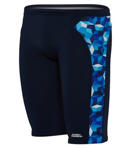 3aca1efab11e5 Funky Trunks Men's Ice Fortress Training Jammer Swimsuit Quick view
