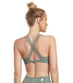 10e3e295af Beyond Yoga Pineapple Double Back Yoga Sports Bra