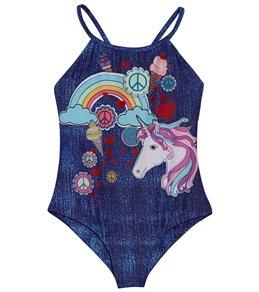 dea5d1d3c0 Limeapple Girls' Collecting Memories Juliette Reversible One Piece Swimsuit  (Little Kid, ...