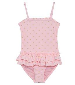 f640e23fdb5 Hula Star Girls' Pretty Princess One Piece Swimsuit (Toddler, ...