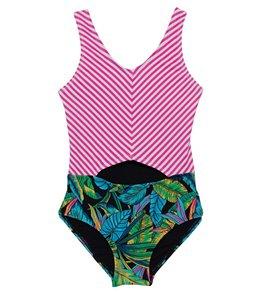 f0a380059c9c2 Gossip Girls  Electric Jungle One Piece Swimsuit (Big ...