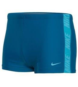 f81e6286ef Nike Men's Logo Splice Square Leg Swim Shorts