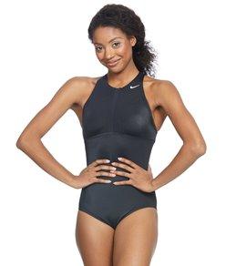 나이키 원피스 수영복 Nike Optic Camo High Neck One Piece Swimsuit