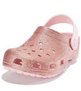d3299496e Crocs Kids  Classic Glitter Clog (Toddler