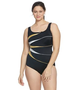 254bddc910 Women's Plus Size Long Torso Swimsuits at SwimOutlet.com
