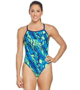 티어 여성 강습용 원피스 수영복 TYR Womens Brandello Diamondfit One Piece Swimsuit