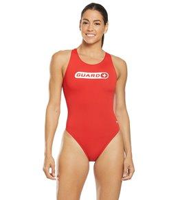 티어 여성 수영복 강습용 원피스 스윔수트 TYR Womens Guard Maxfit One Piece Swimsuit