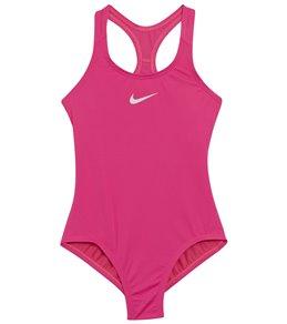 760ce962666 Nike Girls' Racerback One Piece Swimsuit (Big Kid)