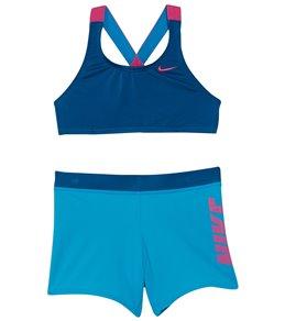 6269f741c2 Nike Girls' Rift Prism Sport Bikini Set (Big ...