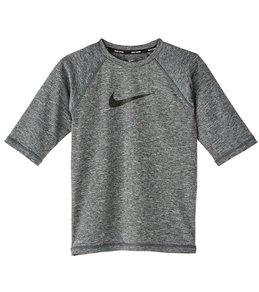 18178329 Nike Boys' Camo Swoosh Shorts Sleeve Swim Shirt (Big ...