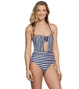 c64aa0dd0a97d Anne Cole Don't Smock Me Bandeau One Piece Swimsuit