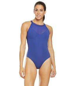 티어 여성 수영복 강습용 원피스 스윔수트 TYR Active Eva High Neck One Piece Swimsuit