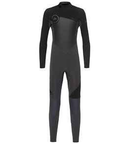 a336a58cb4 Quiksilver Boys' 3/2mm Syncro Series Back Zip Fullsuit Wetsuit (Big ...