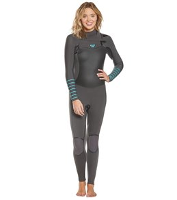 319871055 Roxy 3 2 Syncro Plus Chest Zip Fullsuit Wetsuit