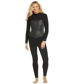 4f7040d332 Roxy 5 4 3mm Syncro Series Back Zip Full Suit Wetsuit