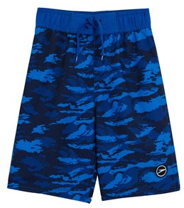 a905e8447 Speedo Boys' Crush It Camo Comfort Liner Volley Swim Short (Big ...