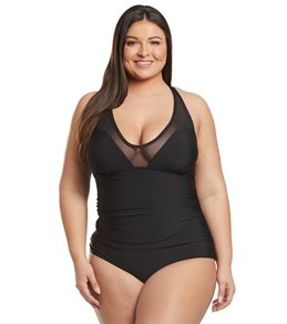 08f08142ac3f6 Active Recreation Crossback One Piece Swimsuits at SwimOutlet.com