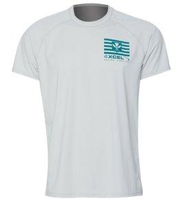 75ba4bcf6 Xcel Men's Heathered Ventx Kanaka Maoli Short Sleeve Surf Shirt
