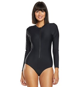 63fa6db8d9 Buy Women's Active Longsleeve One Piece Swimsuits Online at SwimOutlet.com