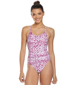 d96278ac1c380 Dolfin Uglies Women's Revibe Print Low X-Back One Piece Swimsuit