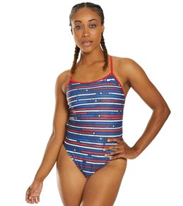218836fdaec Nike Women's Americana Crossback Cut Out One Piece Swimsuit Quick view