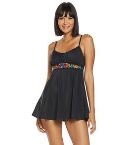 782ad3e207277 Fit4U Folkloric Embriodered Swim Dress
