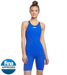 98e4d03b3d5 Arena Women's Powerskin Carbon Air2 Full Body Open Back Tech Suit Swimsuit