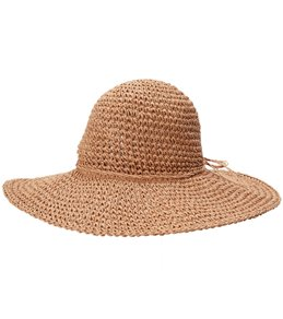 5d641369026 Peter Grimm Balbina 4.5 Brim Straw Hat