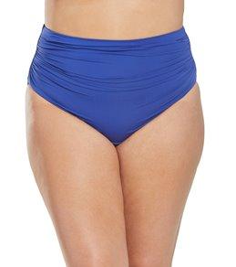 593928b8ee1da Ralph Lauren Chaps Plus Size Solid High Waisted Bikini Bottom