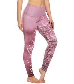 63fc2f6d3b2fc Mika Yoga Wear Kaya High Waisted Printed Yoga Leggings