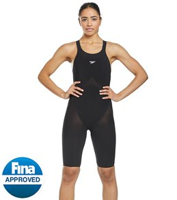 3e94facf8c0d2 Speedo Women s LZR Pure Valor Closed Back Kneeskin Tech Suit Swimsuit