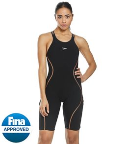 38787a85be4dd Speedo Women s LZR Pure Intent Open Back Kneeskin Tech Suit Swimsuit