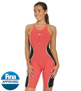 4de6ccca20af2 Speedo Women's LZR Pure Intent Open Back Kneeskin Tech Suit Swimsuit