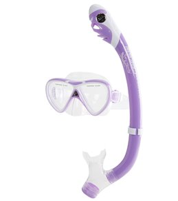 437645323a3 Cressi Kids  Pegaso Mask and Iguana Dry Snorkel Set