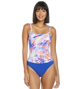 86664e6af52b1 Profile by Gottex Sanibel Scoop Neck One Piece Swimsuit (D Cup)