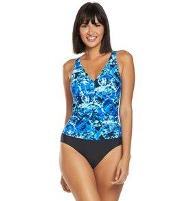 3e80665e18d Ceeb Good Times V-Neck One Piece Swimsuit