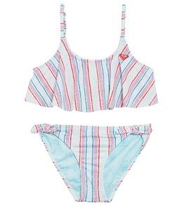 6058163cba56c Disney x Roxy Girls' Treasure Flutter Bikini Set (Little Kid, ...