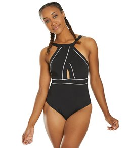 3b71e3b9e14 Women's Missy High Neck One Piece Swimsuits at SwimOutlet.com