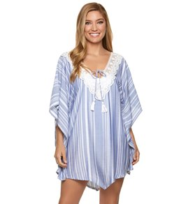 76ef8728372 Dotti Tassel Talk Cover Up Poncho