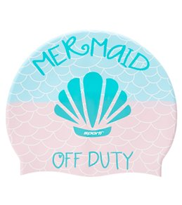 bbca5f5a9 Sporti Mermaid Off Duty Silicone Swim Cap