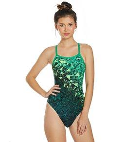 티어 여성 수영복 강습용 원피스 스윔수트 TYR Womens Orion Diamondfit One Piece Swimsuit