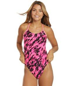 티어 여성 수영복 강습용 원피스 스윔수트 TYR Womens Draco Cutoutfit One Piece Swimsuit